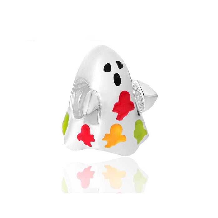 Silver Charms | Ghost Halloween Charm