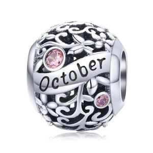 October -Birthstone Charms