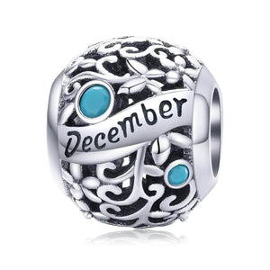 December -Birthstone Charms