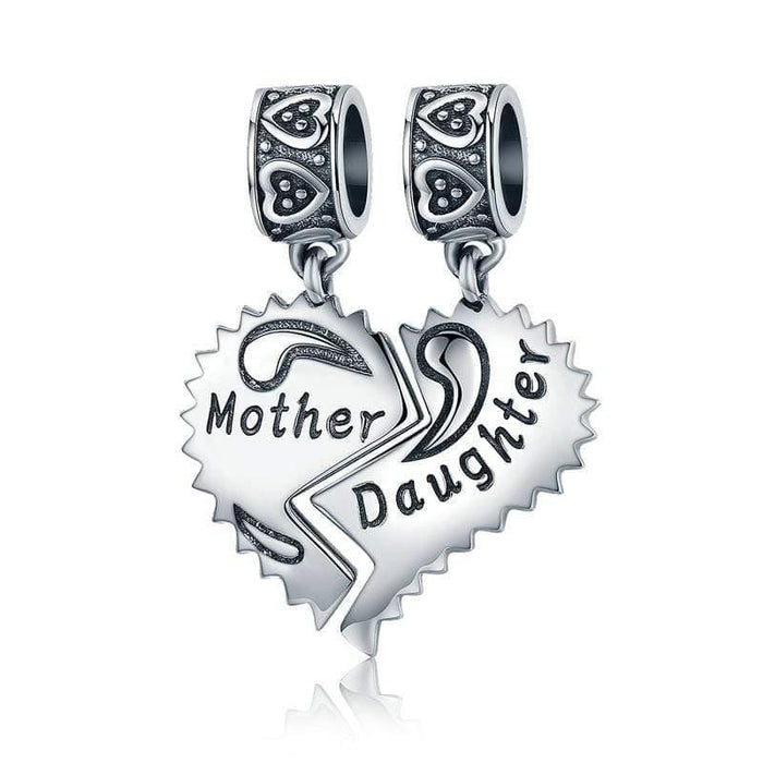 Silver charms - Mother Daughter Charm