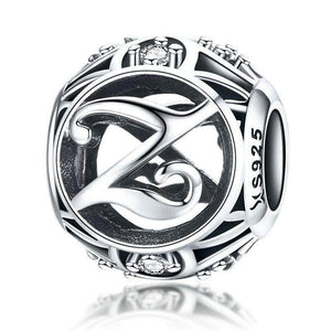 Silver Letter Z Charm