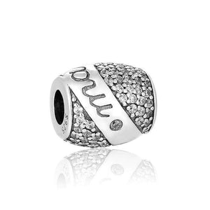 Silver charms | Pave Marry Me Bridal Charm (8747785298)