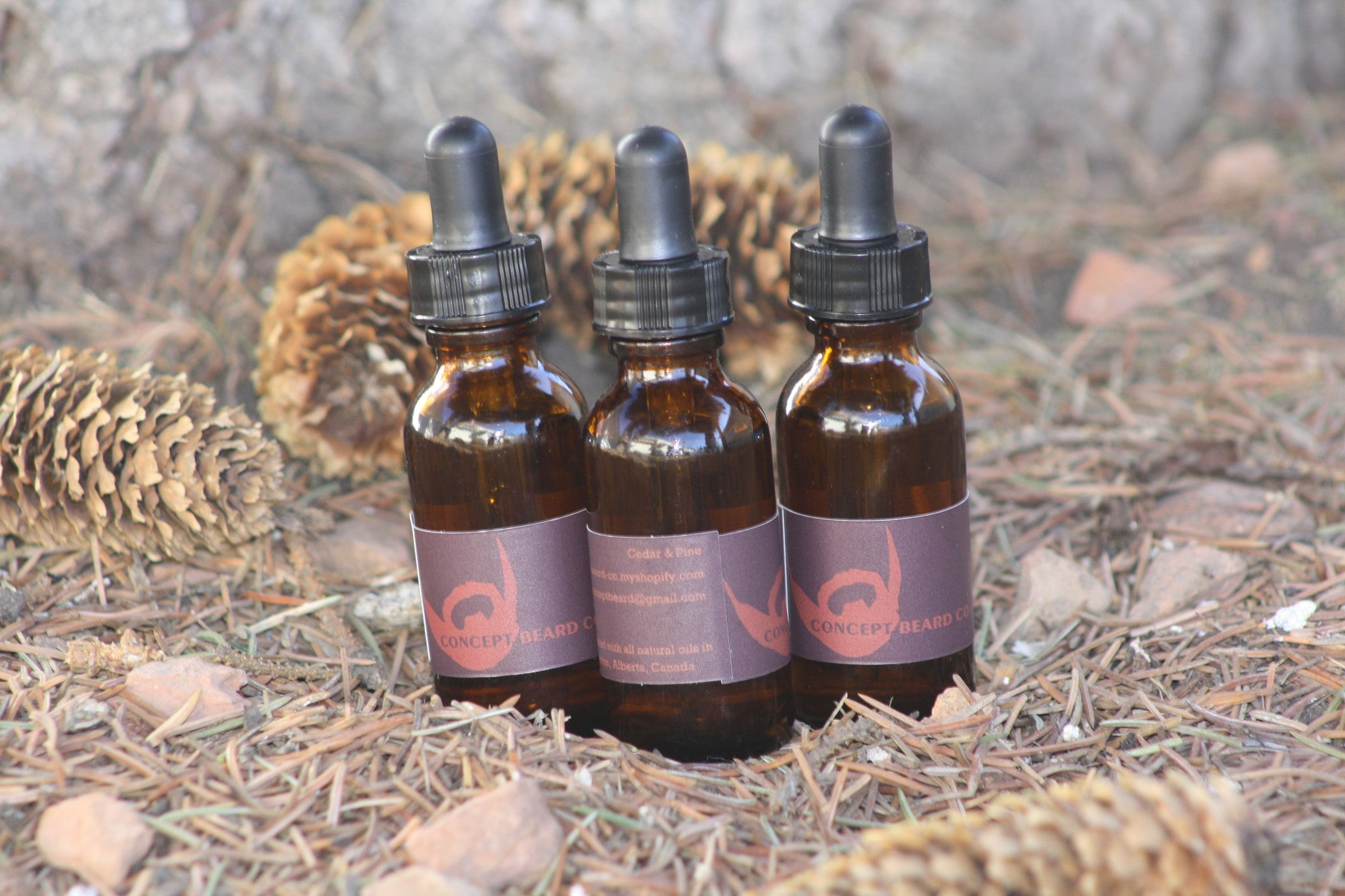 Cedar & Pine Beard Oil 1oz