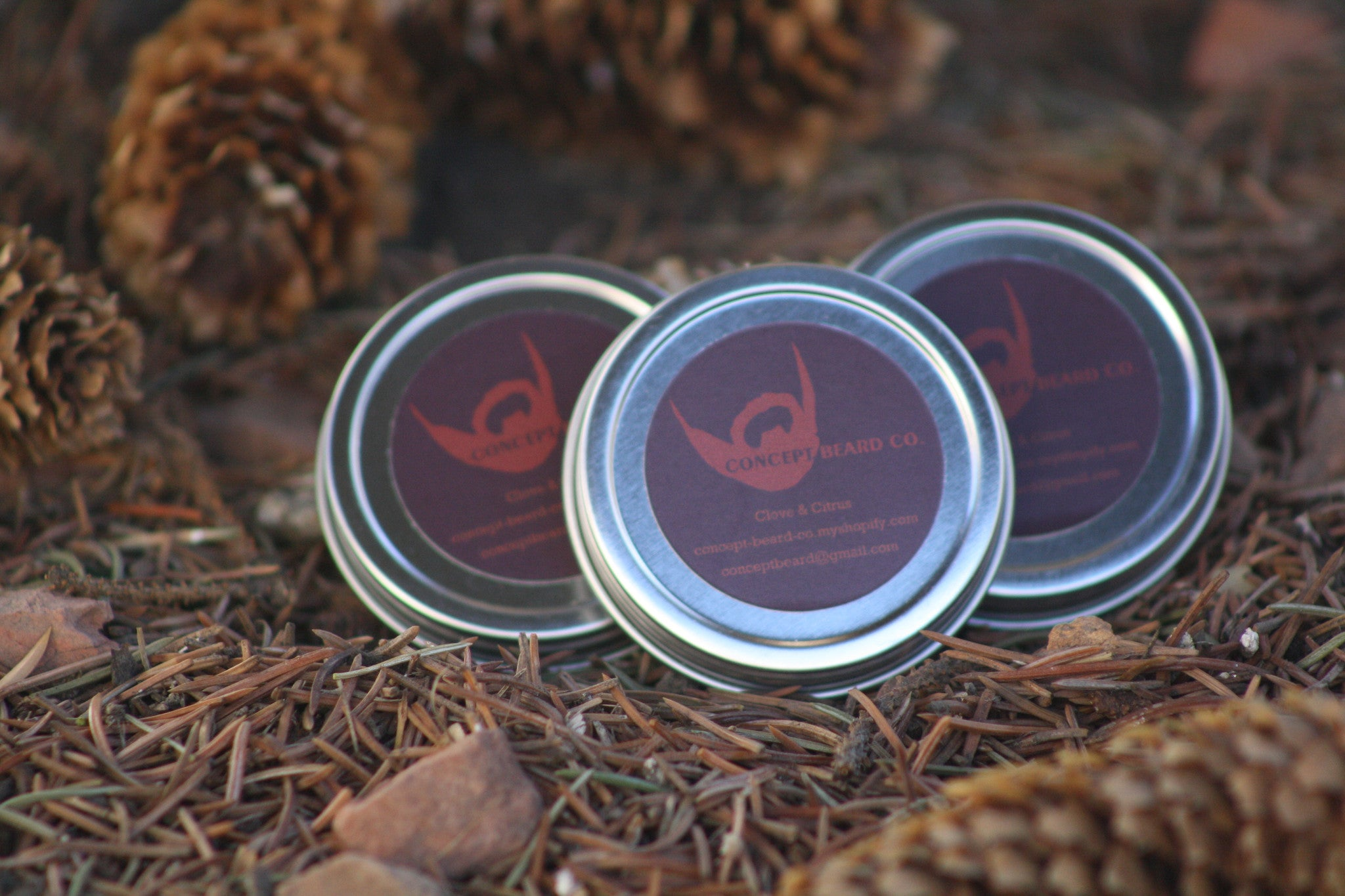 Clove & Citrus Beard Balm 1oz