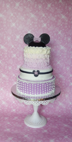 Minnie Mouse (or Mickey Mouse) custom cake