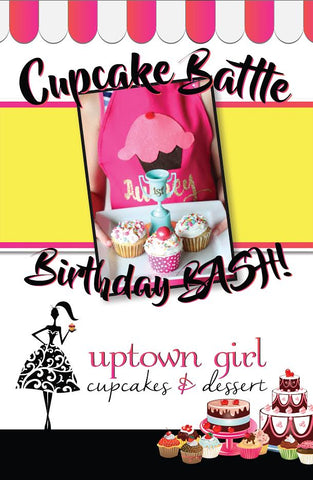 Cupcake Battle Birthday parties! - ages 8+