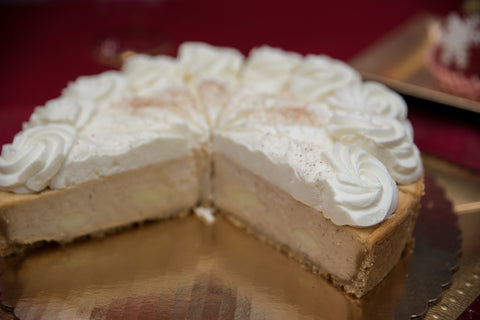 "Rum Chata Cheesecake - 10"" serves 12"