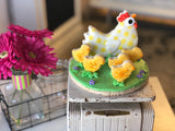 Hen and Chicks Cookie Vignette