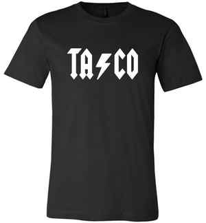 Taco ACDC Back in Black Shirt