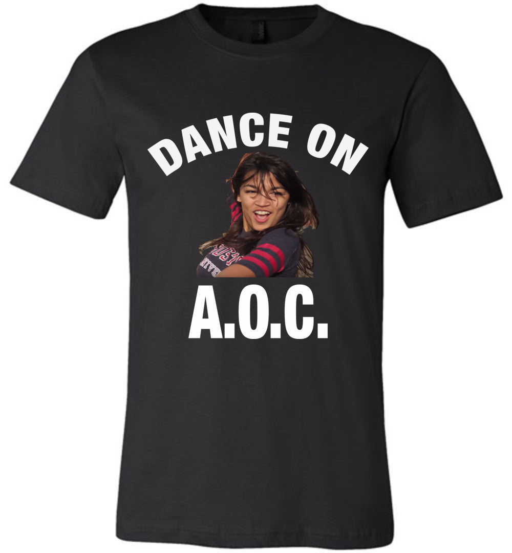Alexandria Ocasio-Cortez Dance On AOC Shirt