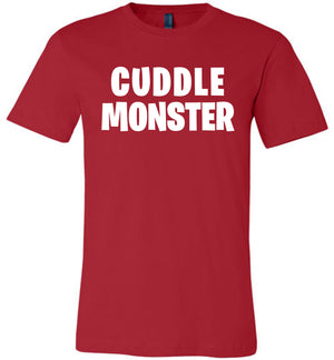 Cuddle Monster Shirt Funny Design Unisex