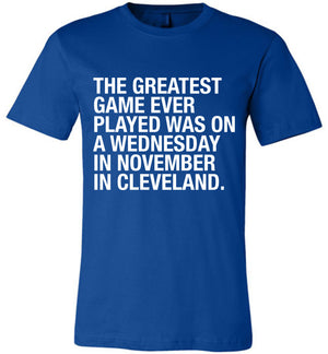 The Greatest Baseball Game of All Time Shirt