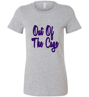 Out Of The Cage Womens V-Neck Shirt - Bring Me Tacos - 2