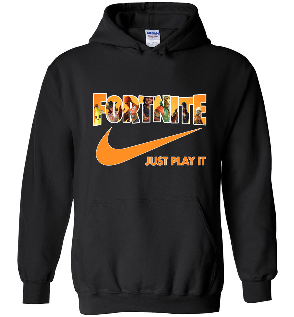 Fortnite Hoodie Just Play It Season 8