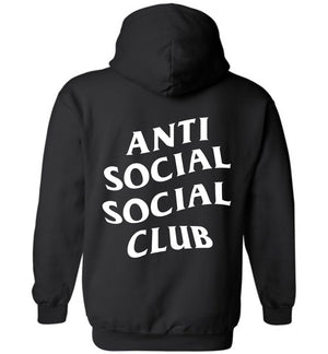 Anti Social Social Club Long Sleeve Hoodie Double Sided