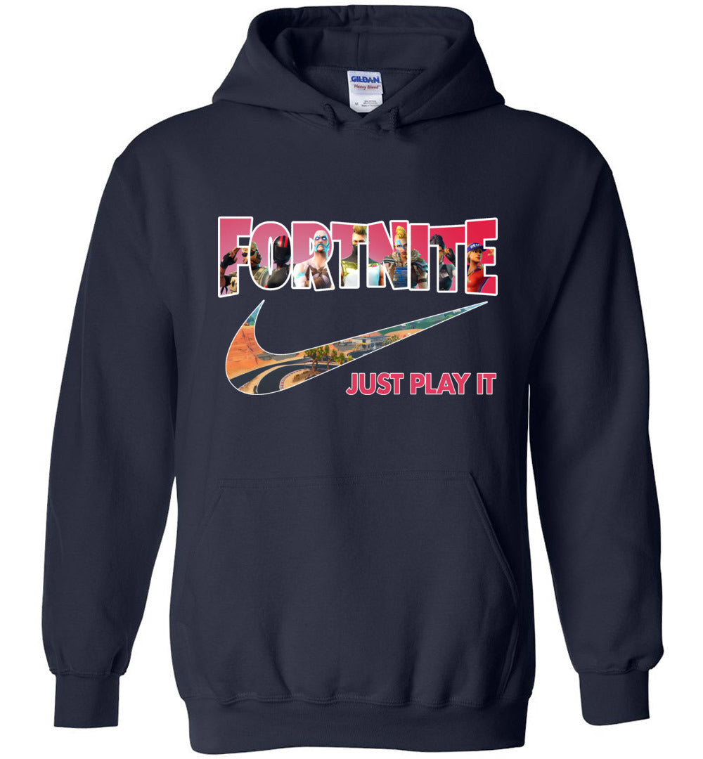 Fortnite Just Play It Season 5 Hoodie Sweatshirt