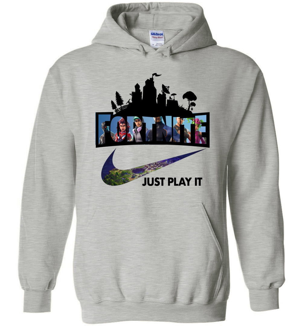 Fortnite Just Play It Hoodie Youth sizes