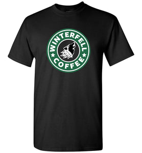 Game of Thrones Winterfell Coffee Shirt
