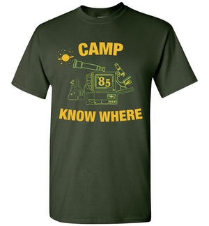 Camp Know Where Shirt Dustin Things