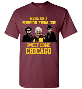 Loyola Sister Jean Blues Brothers T-Shirt