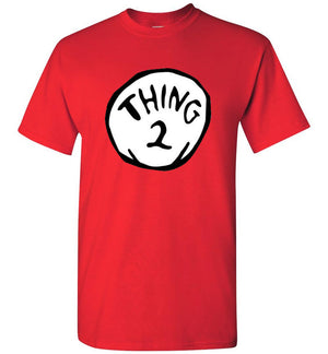 Thing Two Dr. Seuss Thing 2 Shirt
