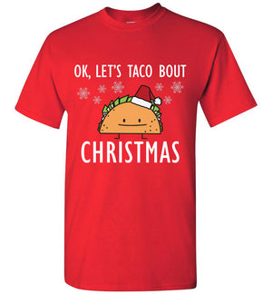 Let's Taco Bout Christmas Shirt