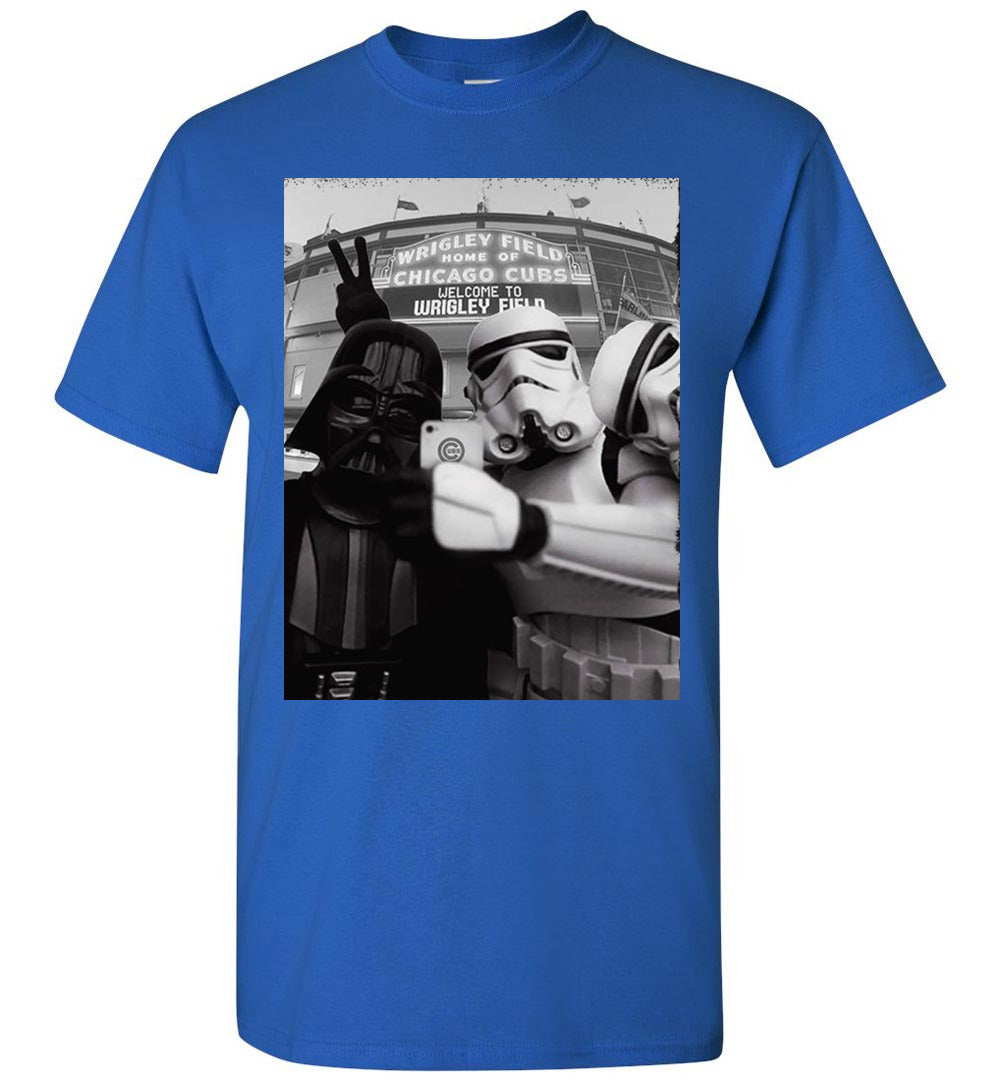Darth Vader Selfie at Wrigley Field Chicago Shirt