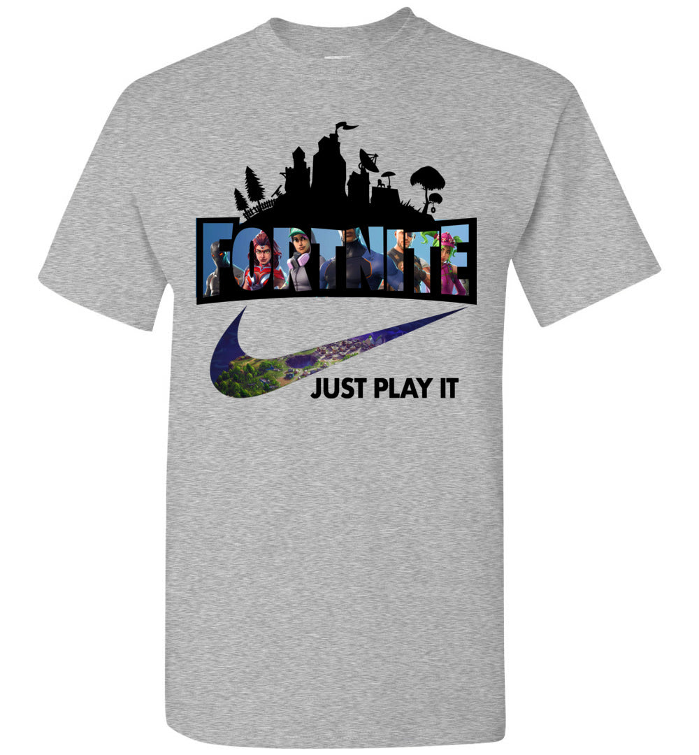 Fortnite Just Play It Shirt New
