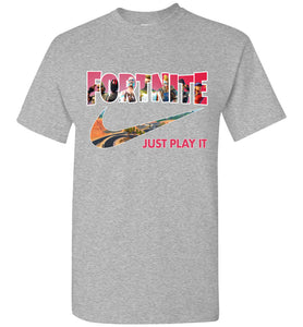 Fortnite Just Play It New Season 5 Shirt