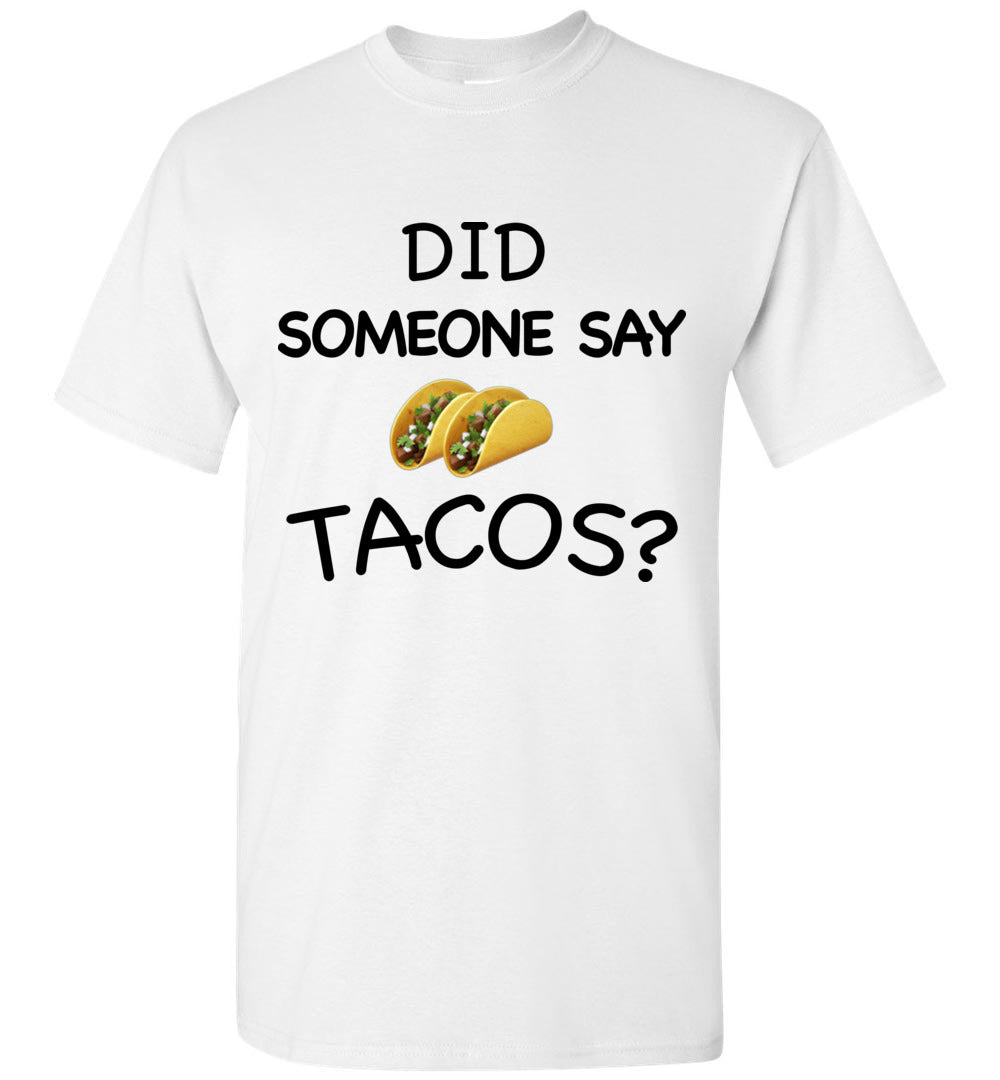 Did Someone Say Tacos Geico Manatees Style Shirt