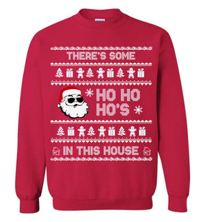 There's Some Ho's WAP Ugly Christmas Sweater Sweatshirt