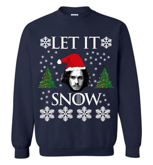Jon Snow Let It Snow Sweatshirt