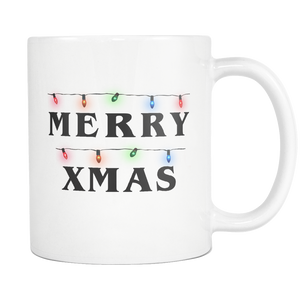 Merry Xmas Lights Mug