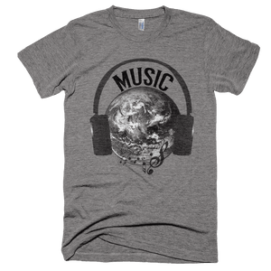 Music Is My World T-Shirt - Bring Me Tacos