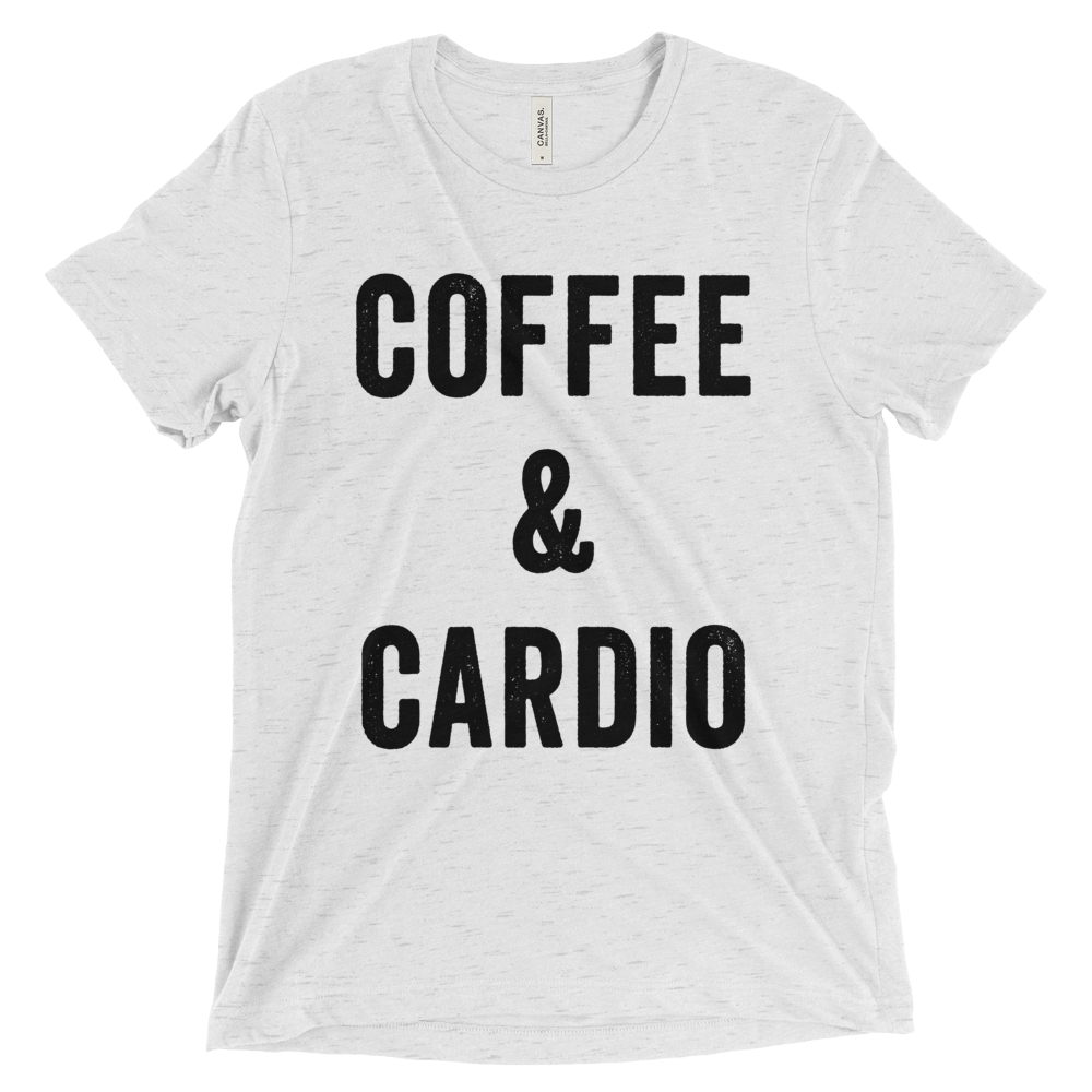 Coffee and Cardio T-Shirt - Bring Me Tacos