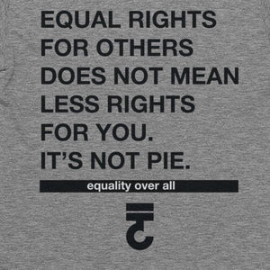 Equal Rights For Others T-Shirt It's Not Pie