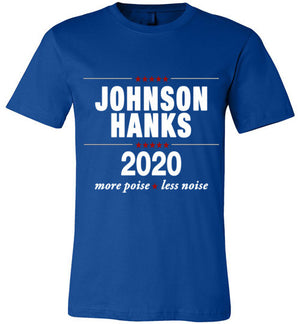 Johnson Hanks 2020  Shirt Royal