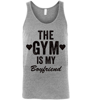 The Gym Is My Boyfriend Tank Top - Bring Me Tacos