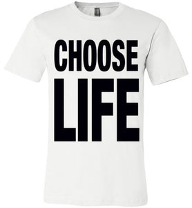 Choose Life T-Shirt - Bring Me Tacos