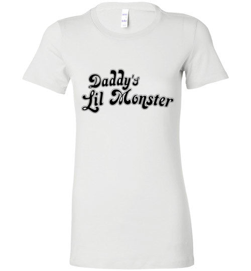 Daddy's Lil Monster Basic White T-Shirt - Bring Me Tacos