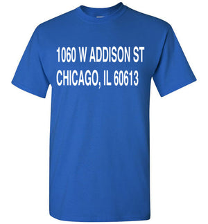 Wrigley Field Address T-Shirt - Bring Me Tacos