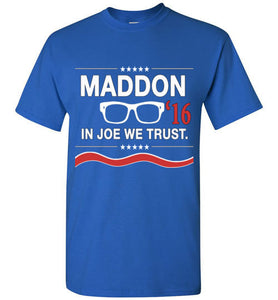 Joe Maddon 2016 Cubs Manager T-Shirt - Bring Me Tacos