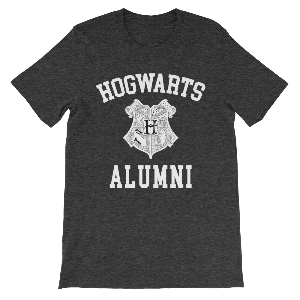 Hogwarts Alumni Shirt Dark Grey Heather