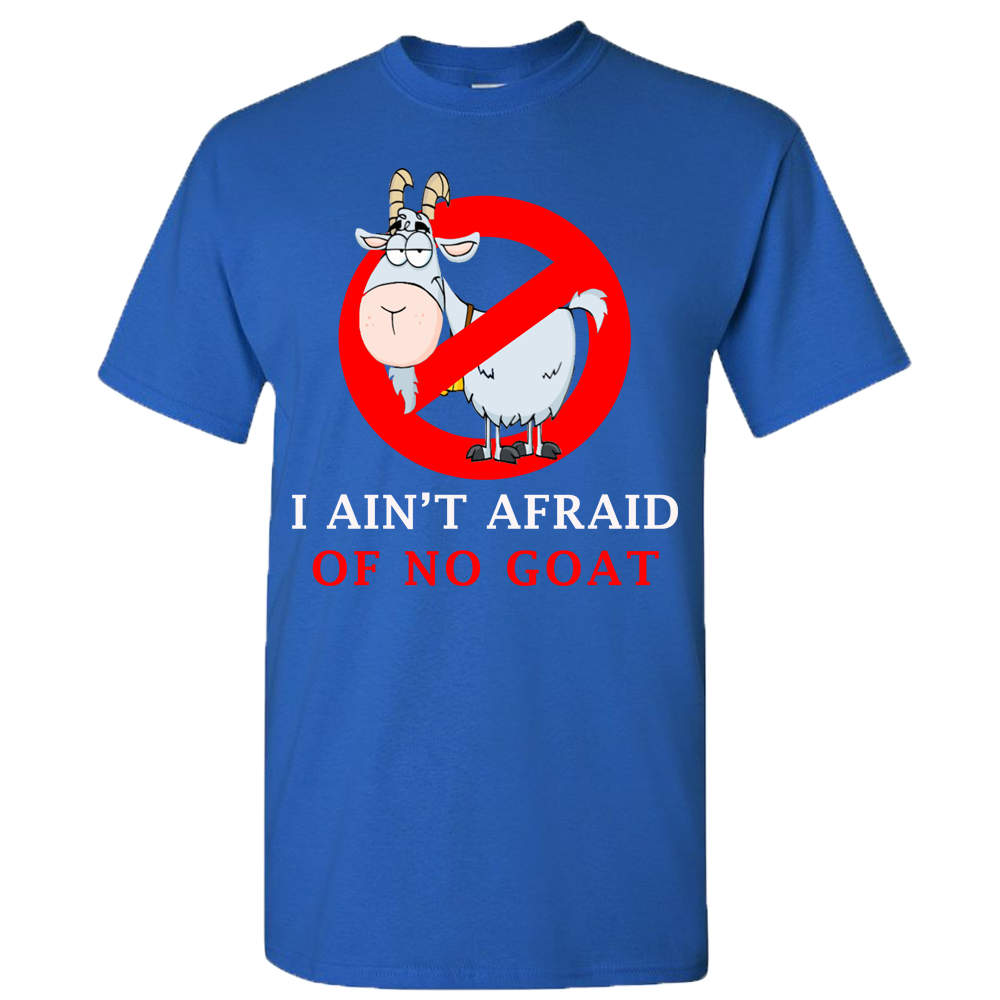 I Ain't Afraid Of No Goats Cubs Bill Murray T-Shirt Official