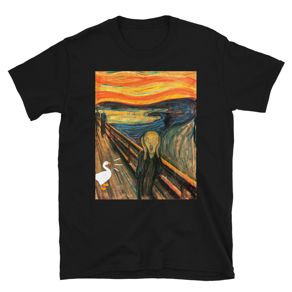 Untitled Goose Game Scream Unisex T-Shirt