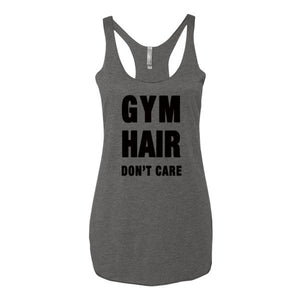 Gym Hair Don't Care Womens Tank Top - Bring Me Tacos
