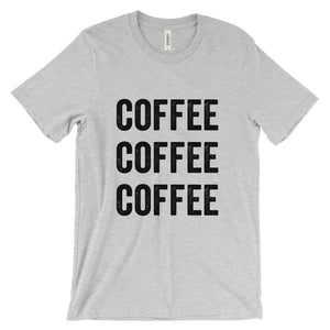 Coffee All Day err day Unisex short sleeve t-shirt