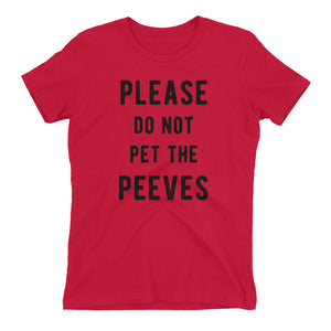 Pet Peeves Please do not pet them Women's t-shirt - Bring Me Tacos - 7
