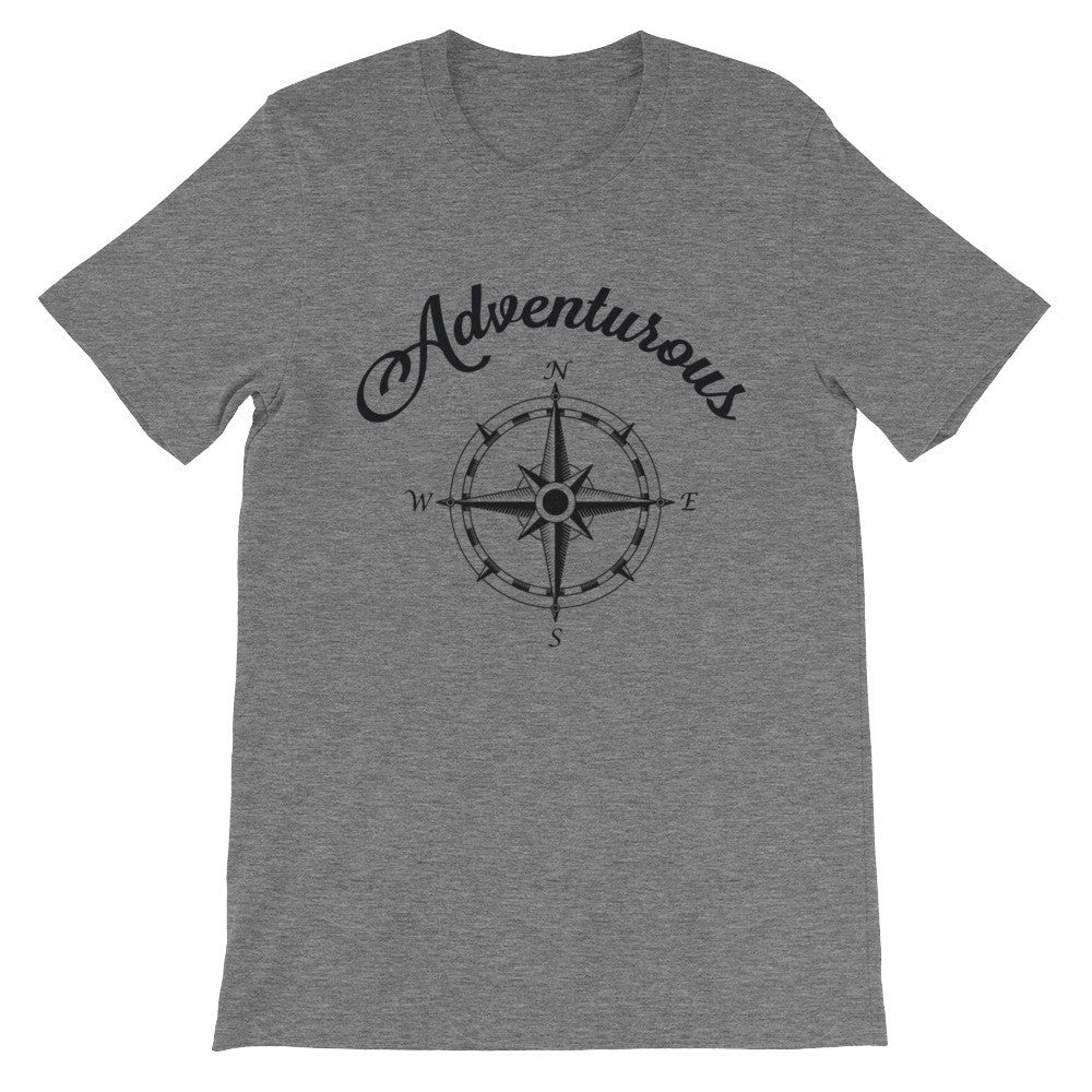 Compass Adventurous Unisex short sleeve t-shirt