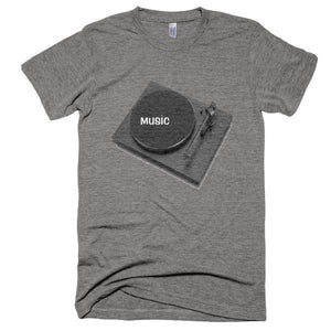 Music Turntable T-Shirt - Bring Me Tacos